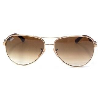 Ray-Ban Aviator Light Brown Sunglasses RB8313-001/51-61