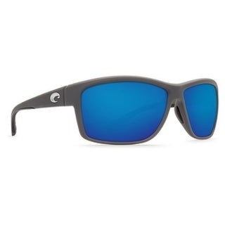Costa Del Mar Mag Bay Polarized Matte Gray Sunglasses - AA-98-OBMGLP