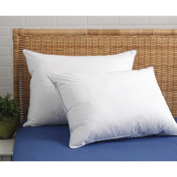 Cool Sleep Optiloft Cotton Pillow - White