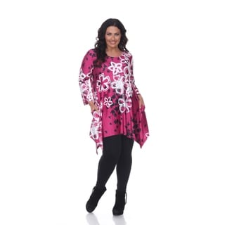 White Mark Plus Size 'Iola' Tunic