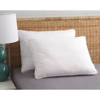 Comfort Pure Dust Mite/Bed Bug Resistant 2-inch Gusset Pillow - White