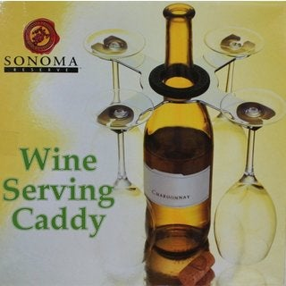 Sonoma Reserve Wine Serving Caddy by Sonoma Reserve