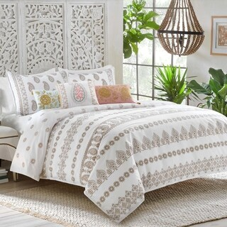 Dena Home Marielle Duvet Gold Cover Set