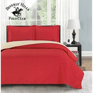 Beverly Hills Polo Club Reversible Quilt Set