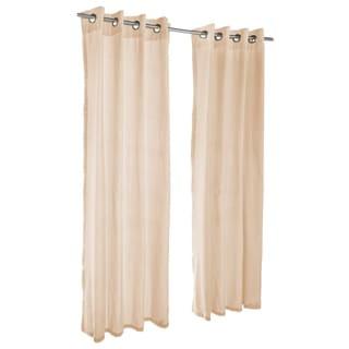 Pawleys Island Sunbrella Curtain -  Sheer Honey