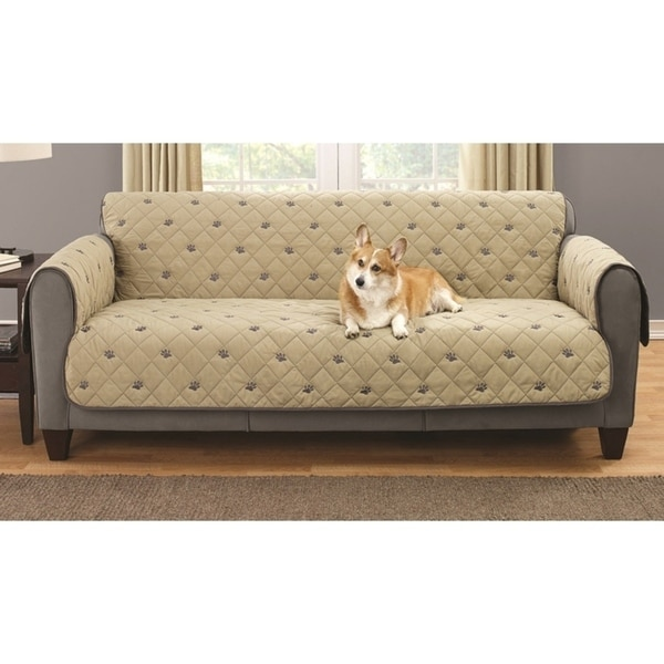 South Bay Loveseat Embroidery Pet Protector With Silicone Backing Free Shipping