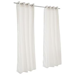 Pawleys Island Sunbrella Curtain - Canvas White