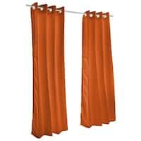 Pawleys Island Sunbrella Curtain -  Canvas Rust