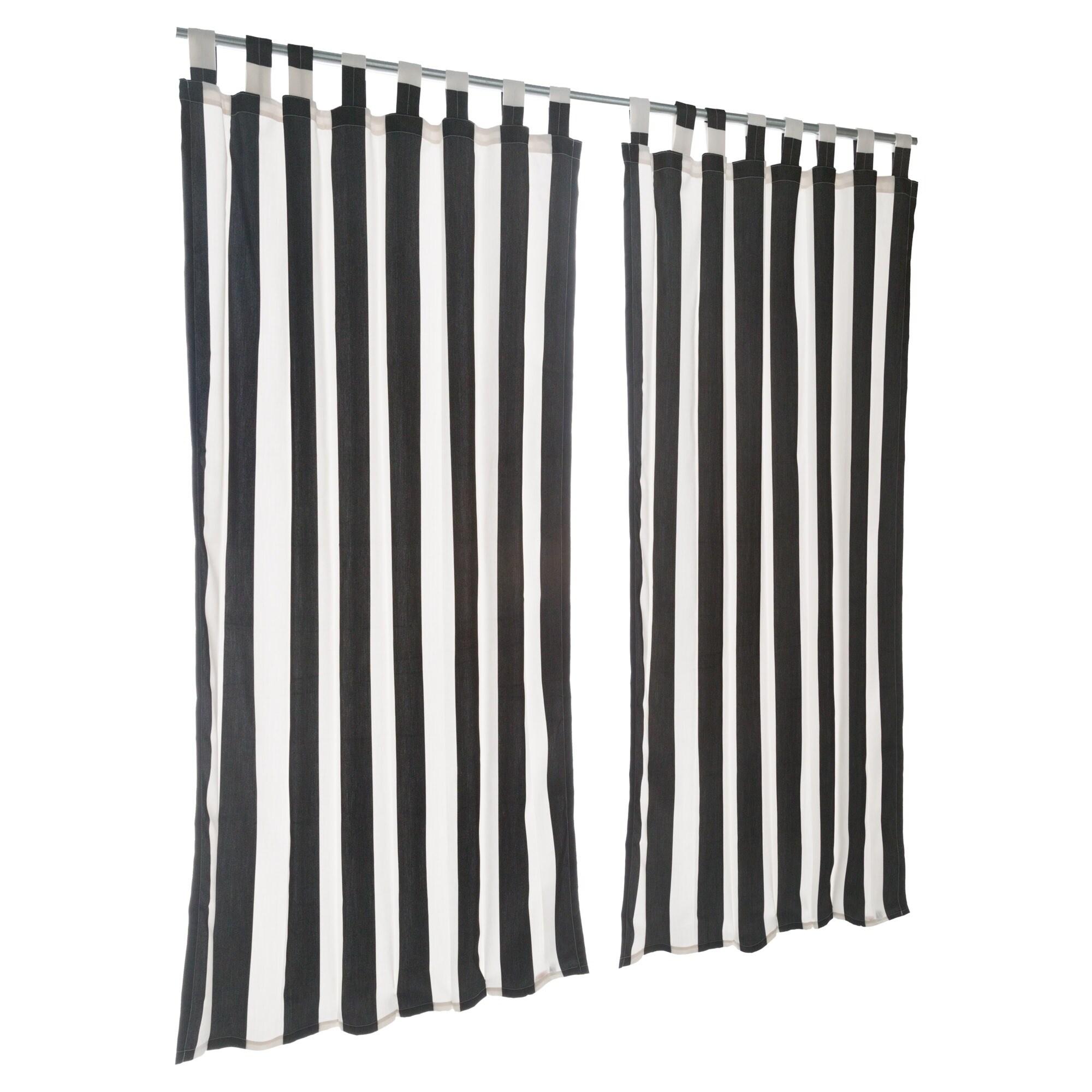 Pawleys Island Sunbrella Curtain - Cabana Classic (120 In...