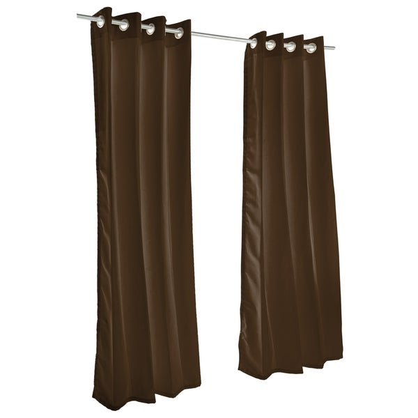 Pawleys Island Sunbrella Curtain - Canvas Bay Brown