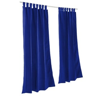 Pawleys Island Sunbrella Curtain - Canvas True Blue