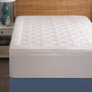 Cozy Classics Cool Sleep Mattress Pad - White