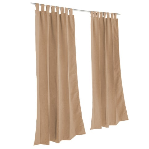 Pawleys Island Sunbrella Curtain - Canvas Cocoa