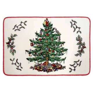 Spode Tree Red Rug - 20 x 30