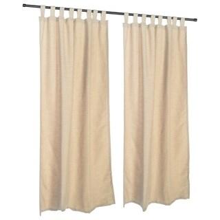 Pawleys Island Sunbrella Curtain - Dupione Sand
