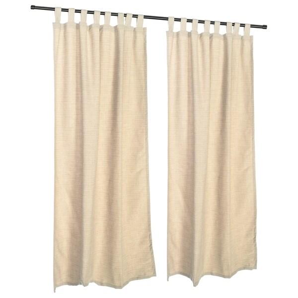 Pawleys Island Sunbrella Curtain - Dupione Pearl