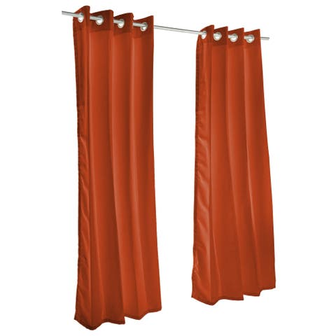 Pawleys Island Sunbrella Curtain - Canvas Brick