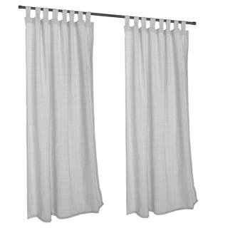 Pawleys Island Sunbrella Curtain - Linen Silver