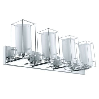 Eglo Iride 4-Light Chrome Vanity Light