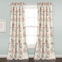 Lush Decor Pixie Fox Room Darkening Window Curtain Panel Set
