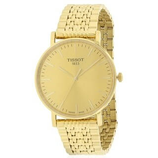 Tissot Everytime Medium Gold-Tone Mens Watch T1094103302100