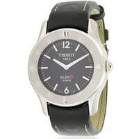 Tissot Silen-T Touch Screen Alarm Leather Unisex Watch