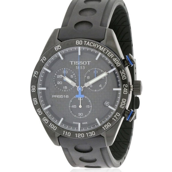 a5c22fa9d18 Shop Tissot PRS 516 Chronograph Rubber Mens Watch T1004173720100 - Free  Shipping Today - Overstock - 17374529