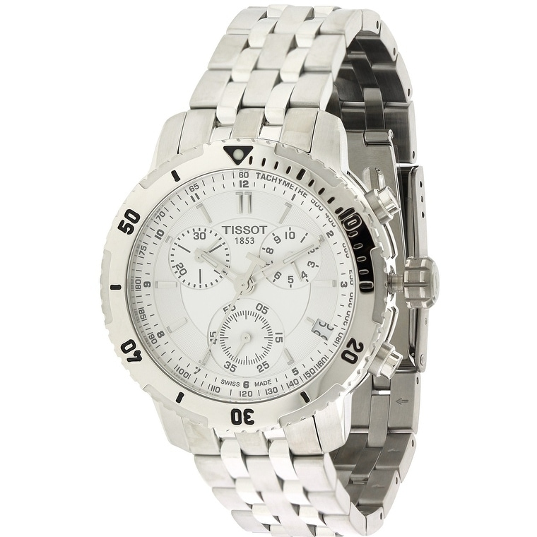 Tissot T-Sport PRS200 Mens Watch T0674171103100, White, S...