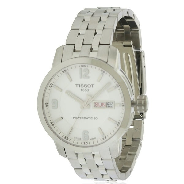269a25c6f44 Shop Tissot PRC 200 Automatic Mens Watch T0554301101700 - Free Shipping  Today - Overstock - 17374537