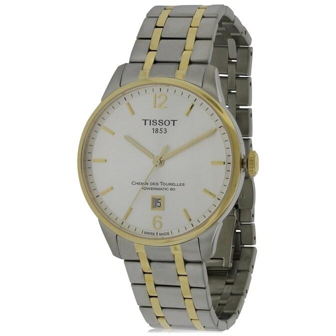 Tissot T-Classic Automatic Mens Watch T0994072203700, Whi...