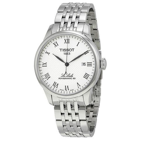 Tissot Le Locle Powermatic 80 Automatic Stainless Steel Mens Watch T0064071103300