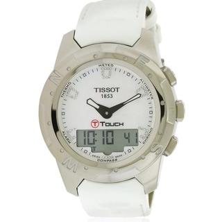 Tissot T-Touch II Multifunction Diamond Ladies Watch