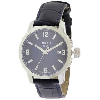 Tissot PRC 200 Leather Mens Watch T0554101604700