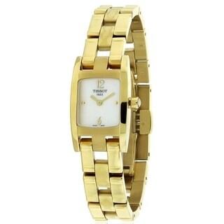 Tissot T3 Gold-Tone Ladies Watch T0421093311700