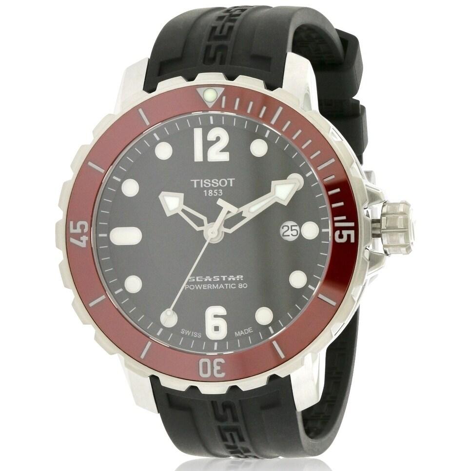 Tissot T-Sport Seastar Mens Watch T0664071705703, Black, ...
