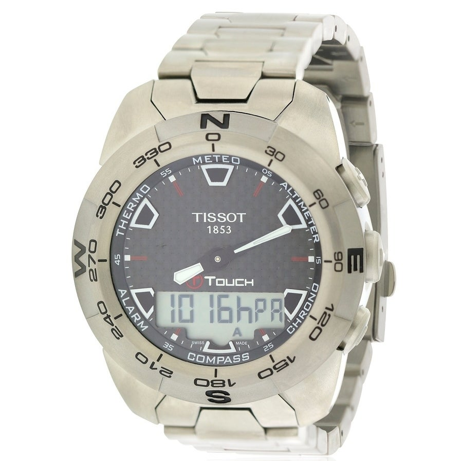 Tissot T-Touch Expert Mens Watch T0134204420100, Black, S...