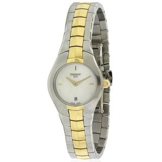 Tissot T-Round Ladies Watch T0960092211100