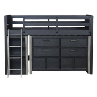 Brooks Mid Loft Bed w/ Storage