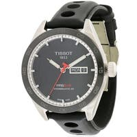 Tissot PRS 516 Automatic Leather Mens Watch T1004301605100
