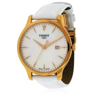 Tissot Tradition Leather Ladies Watch T0636103611601