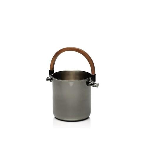 """Cortina"" Polished Metal Ice Bucket / Wine Cooler"