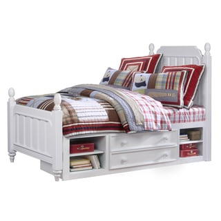 SummerTime Youth Twin Poster Bed with Underbed Storage
