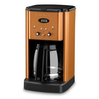 Cuisinart Brew Central 12-Cup Programmable Coffeemaker (Metallic Orange) Refurbished