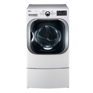 LG DLEX8100W 9.0 cu. ft. Mega Capacity Electric Dryer w/ Steam™ Technology in White