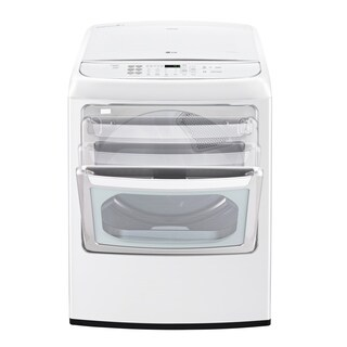 LG DLGY1902WE 7.3 cu. ft. Ultra Large Capacity Front Control Gas Dryer with EasyLoad? Door in White