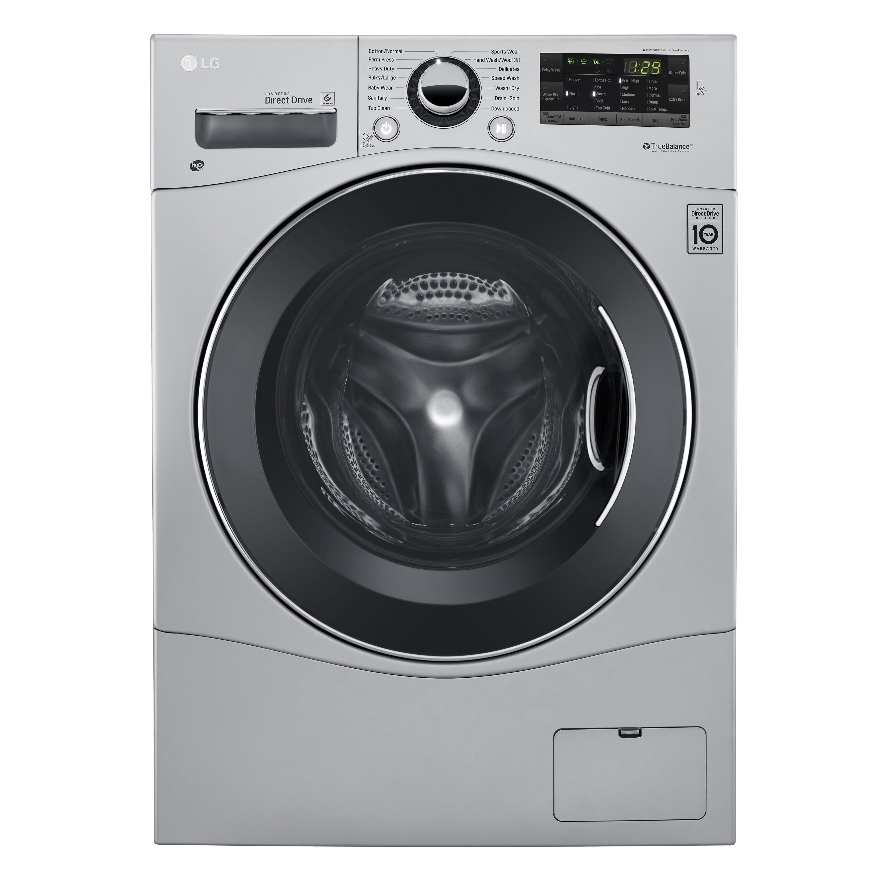 LG WM3488HS 2.3 cu.ft. Compact All-In-One Washer/Dryer in...