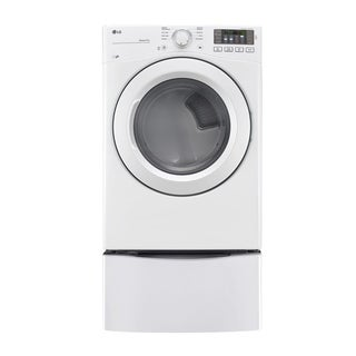 LG DLG3181W 7.4 cu. ft. Ultra Large Capacity Dryer w/ NFC Tag On Technology in White