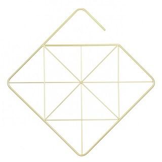 Umbra Pendant Square Metal Scarf/Accessories Holder (Brass) 294314-104