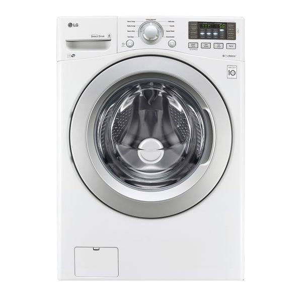 LG WM3270CW 4.5 cu. ft. Ultra Large Capacity Front Load Washer with ColdWash™ Technology in White