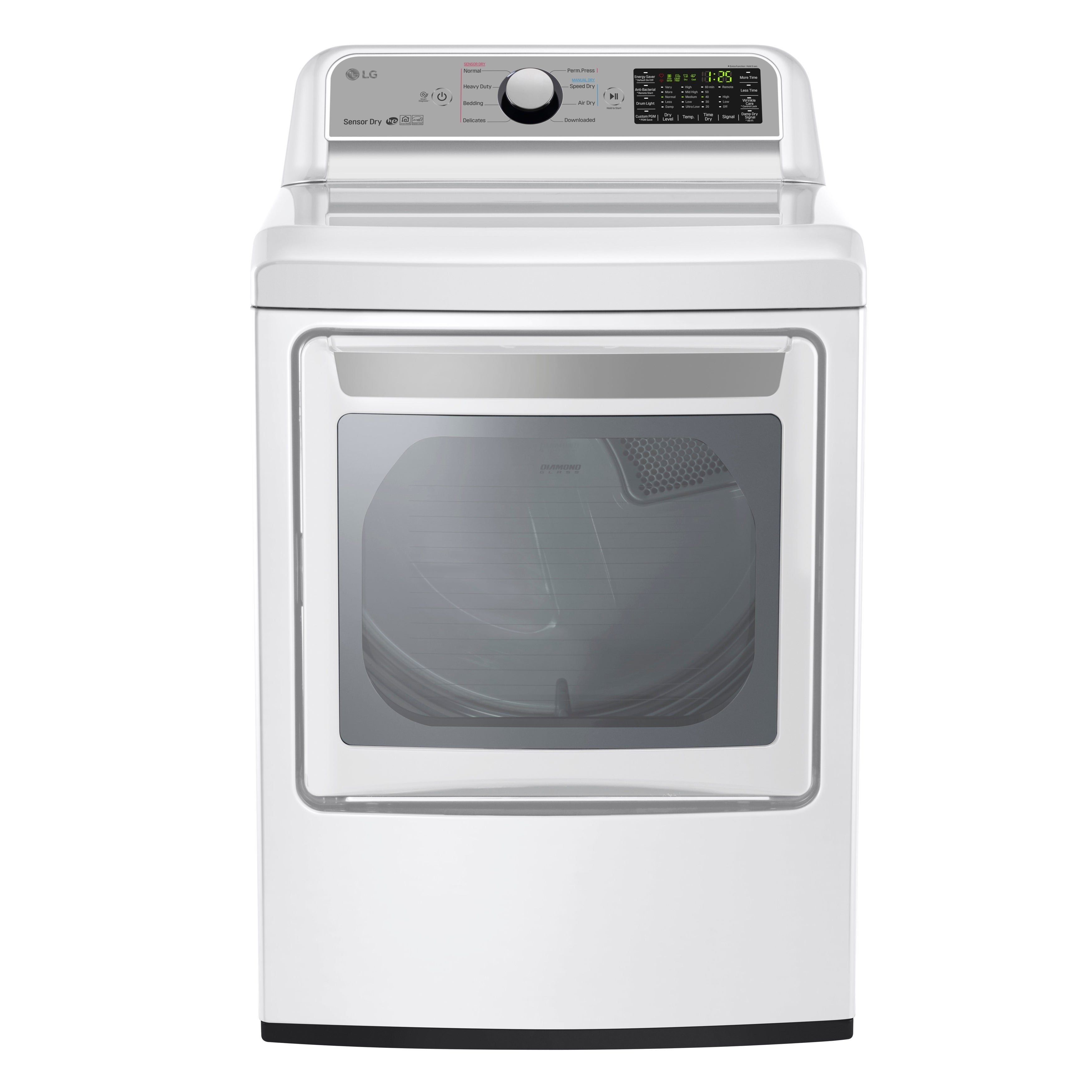 LG DLE7200WE 7.3 cu. ft. Super Capacity Electric Dryer wi...